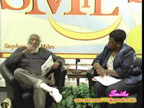 "Dick Gregory- How the ""N"" Word Began & More on SMiles TV Talk Show."