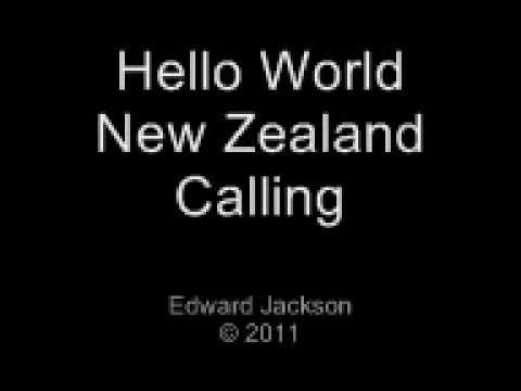 Hello World - New Zealand Calling (Rugby World Cup Welcome Song)