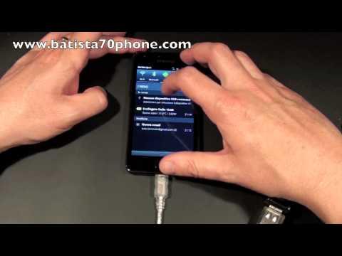 Funzione USB Host su Samsung Galaxy S2 Video by batista70phone