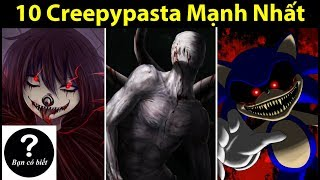 Top 10 Strongest Creepypasta Characters , Fact #40 -- Did You Know?