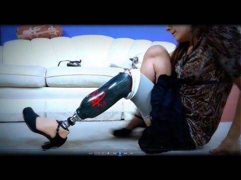 AmputeeOT: Yes, you can wear high heels with a prosthetic!