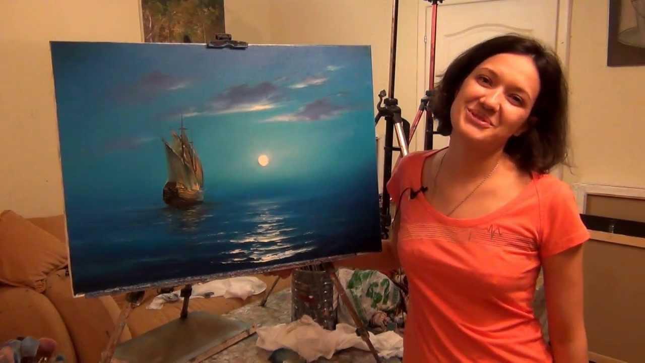 скачать мастер класс по живописи: