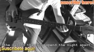 Maroon 5, Ladykiller (Bass cover by LB)(HD)(W/Subtitles)