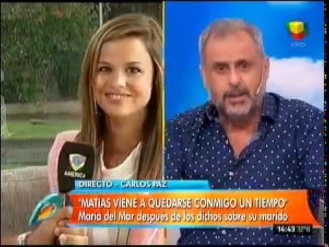 La esposa de Matías Alé: Nuestro amor hoy no pasa por el sexo