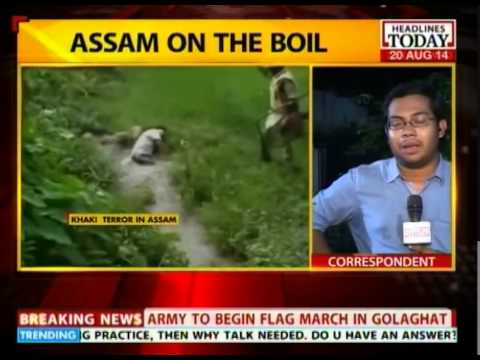 Indian Army to conduct flag march in Golaghat, Assam