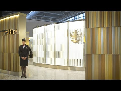 Take a tour of the First Wing at London Heathrow