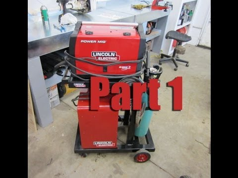 How To Build a Welding Cart For A Mig & Stick Welder Part 1/4