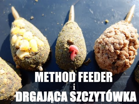 ABC - Method feeder i drgająca szczytówka - sprzęt, czytanie szczytówki oraz podajniki.