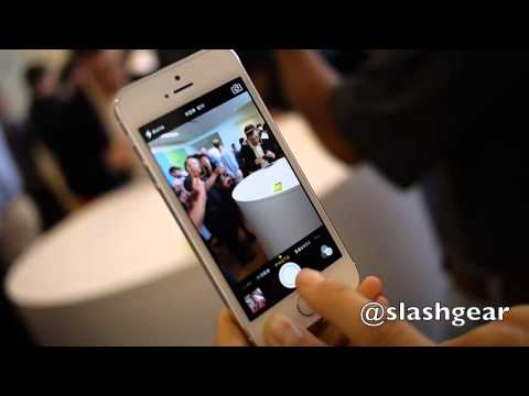 Apple iPhone 5S hands-on