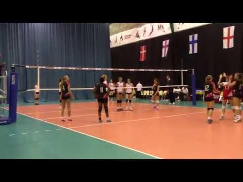 Katy Begley Volleyball White14 Eng U17 Vs Denmark U17