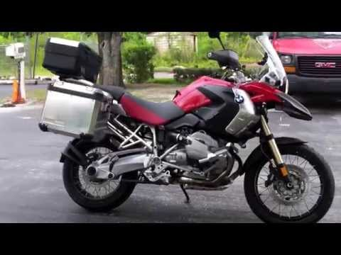 Pre-Owned 2011 BMW R1200GS Magma Red at Euro Cycles of Tampa Bay
