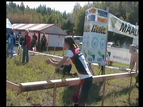 NOC orienteering D21 relay