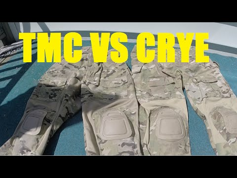 TMC vs Crye Uniform Quality Comparison