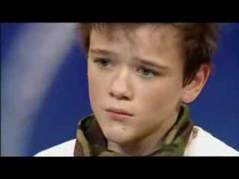 George Sampson, winner of bgt 2008.