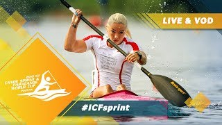 2019 ICF Canoe Sprint amp Paracanoe World Cup 1 Poznan Poland / Day 4: Finals