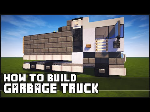 ► Minecraft : How to Make - Garbage Truck