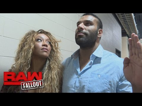 Jinder Mahal tries to help Alicia Fox find inner peace: Raw Fallout, Sept. 19, 2016