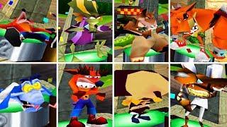 Crash Team Racing - Defeat Animation (Second place) CTR