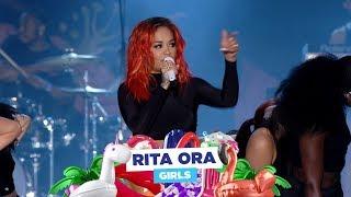 Download Lagu Rita Ora - 'Girls' (live at Capital's Summertime Ball 2018) Gratis STAFABAND
