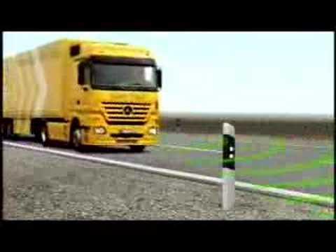 Mercedes-Benz Safety Truck Actros