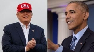 The transition from President Obama to President-elect Trump