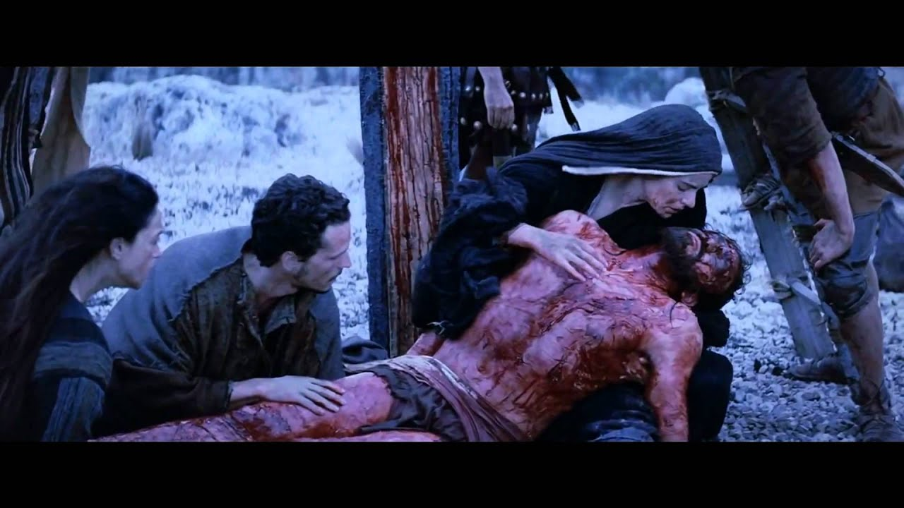 Passion of the christ tomb scene