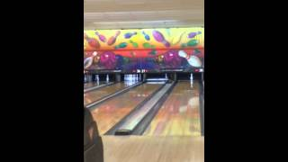 Bowling a 299 while the 10-pin wobbles