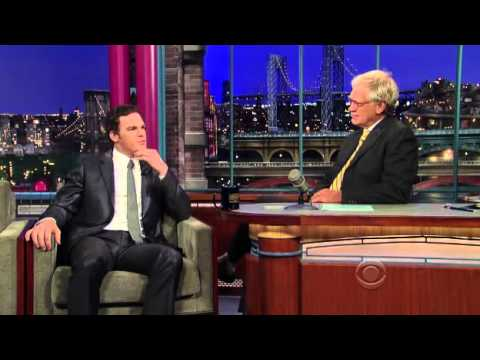 Michael C. Hall at Late Show with David Letterman 01/10/2010 [CZ]