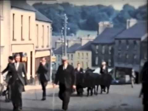 Boyle, County Roscommon, Ireland - Fair day Circa 1950