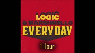 Logic, Marshmello - Everyday 1 Hour 61.68 MB