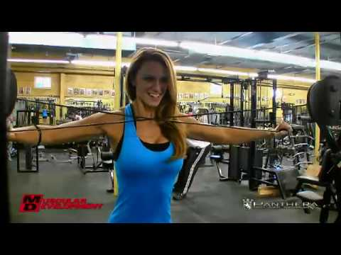 IFBB Bikini Pro Tabitha Leandi 3 Weeks Out from Europa Music Videos