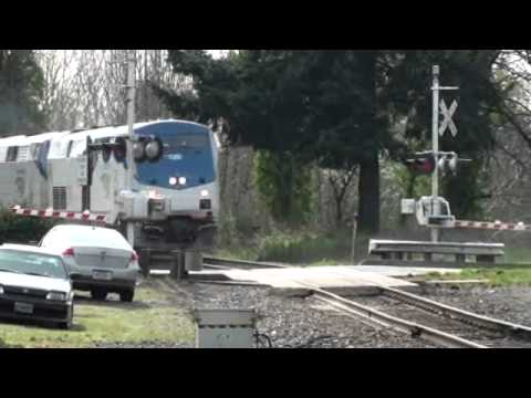 Amtrak 11 @ Aurora, OR