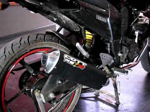 -CañoSport -Yamaha FZ 16 con escape Cott