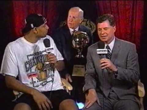 Tim Duncan - 1999 NBA Championship Interview (ESPN)