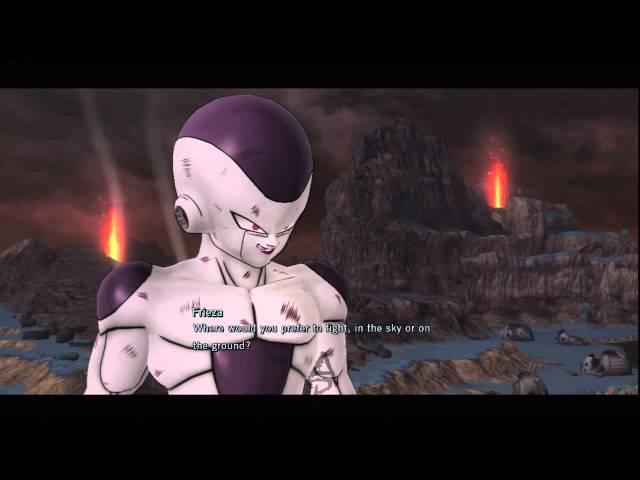 Dragonball Z Ultimate Tenkaichi: Story Mode Playthrough   Episode 19: Goku vs Frieza
