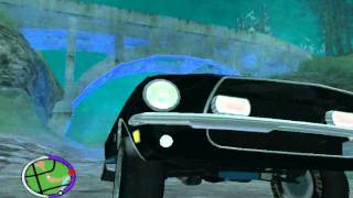 GTA SAN ANDREAS MYTH 4 STRANGE LIGHTS IN BLUE BERRY.wmv