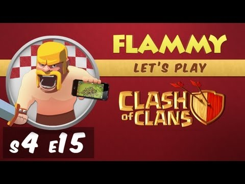 [4-15] Let's Play Clash of Clans - Raiding is my Farming (Gameplay Commentary)