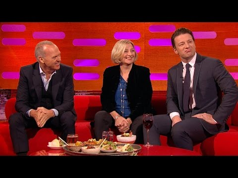 Michael Keaton & Jamie Oliver talk about tattoos - The Graham Norton Show: Series 16 - BBC thumbnail