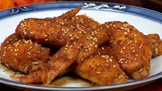 Thanksgiving Tebasaki Chicken Wings 感謝祭の手羽先の唐揚げ