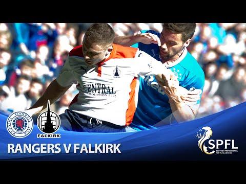 Rangers 2 Falkirk 2: Scottish Championship, April 25 2015