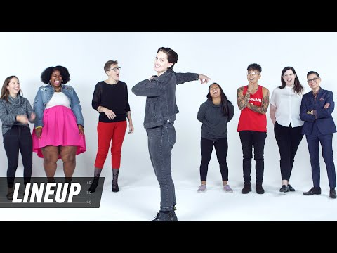 Lesbians Decide Who& 39;s The Gayest Lineup Cut
