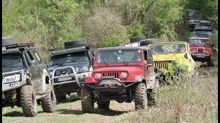 4x4 offroad Tisovec 2019 Nissan Patrol y61,y60, Toyota landcruiser, Jeep wrangler, Pajero, Defender.