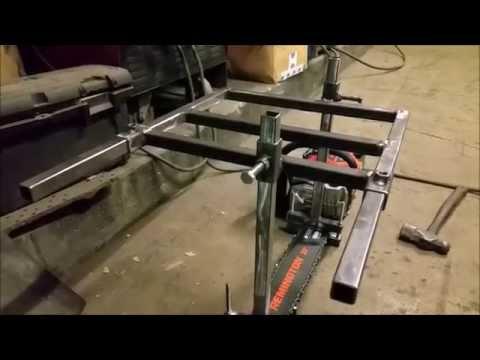 Building an Alaskan Chain Saw Mill