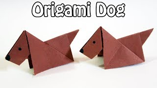 Origami Dog - Cute and Easy Origami Dog Tutorial for Kids | Paper Dog (easy origami)