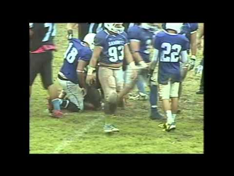 Rhine Haleck #3 - Samoana High School - Football Highlights 2013-2014 Season