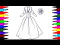 BARBIE Glamour Dress 3 BEST LEARNING Coloring Book L Pages Videos For Children Learn Rainbow Colors mp3
