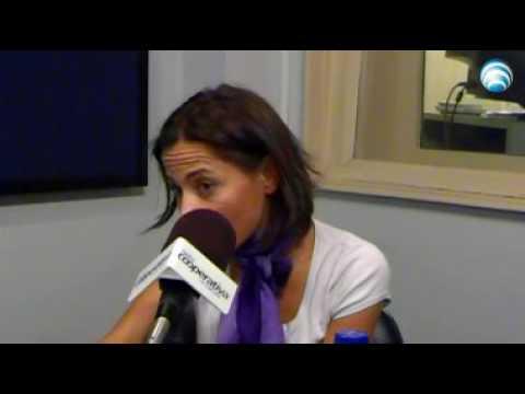 Constanza santa María en Radio Cooperativa