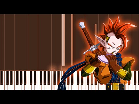 Tapion's Theme - Dragon Ball Z (Piano Tutorial / Synthesia)