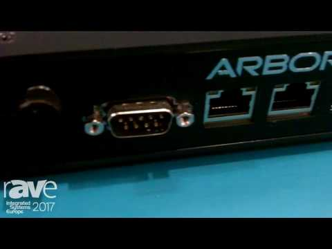 ISE 2017: Arbor Technology Displays ELIT-1900 Digital Signage Player