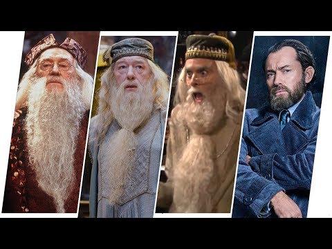 Albus Dumbledore Evolution Movies & TV (2018)